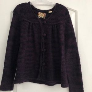 Chelsea & Violet button up knit sweater